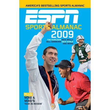 ESPN Sports Almanac 2009 : Plus Mike & Mike's Year in Review (Espn Mike And Mike Halloween)