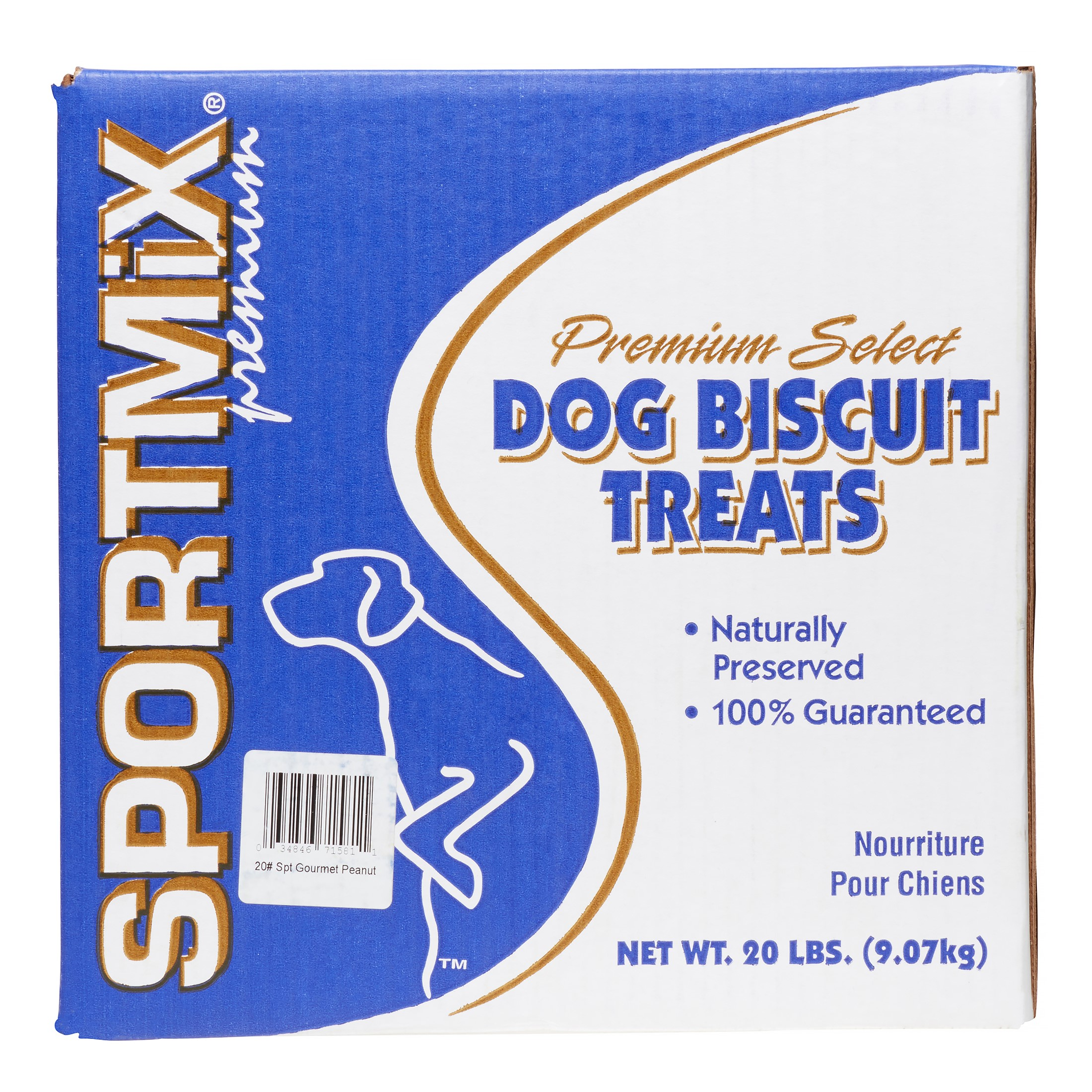 Sportmix Premium Select Chicken Meal Dog Treats, 20 Lb