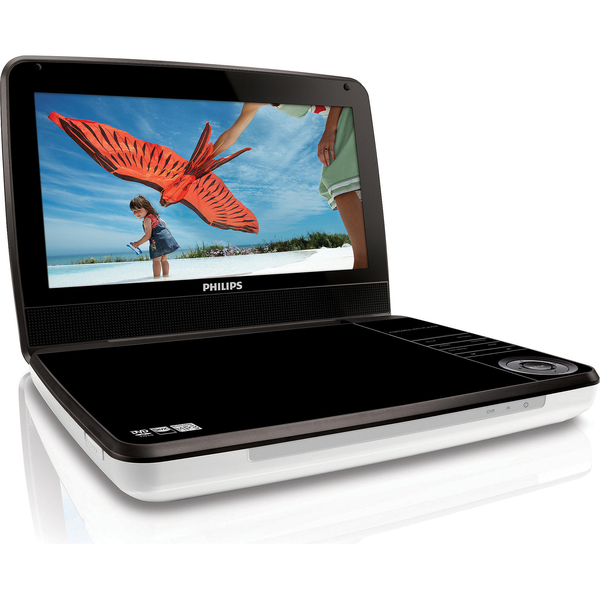 "Philips PD9030/37 9"" LCD Portable DVD Player"