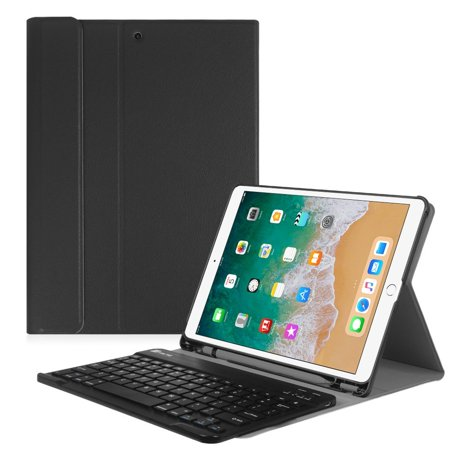 (Fintie iPad Pro 10.5 Keyboard Case with Built-in Apple Pencil Holder - SlimShell Protective Cover with Magnetically Detachable Wireless Bluetooth Keyboard for Apple iPad Pro 10.5 Inch 2017, Black)