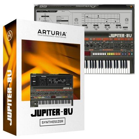Arturia Jupiter-8V 2 5 Virtual Synth Software (Download)