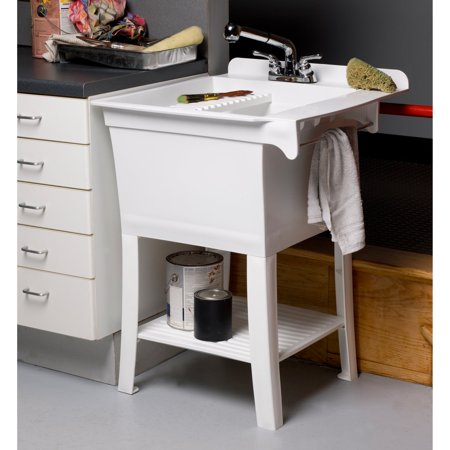 Cashel The Maddox Fully Loaded Utility Sink Kit Workstation - with (Outdoor Sink)