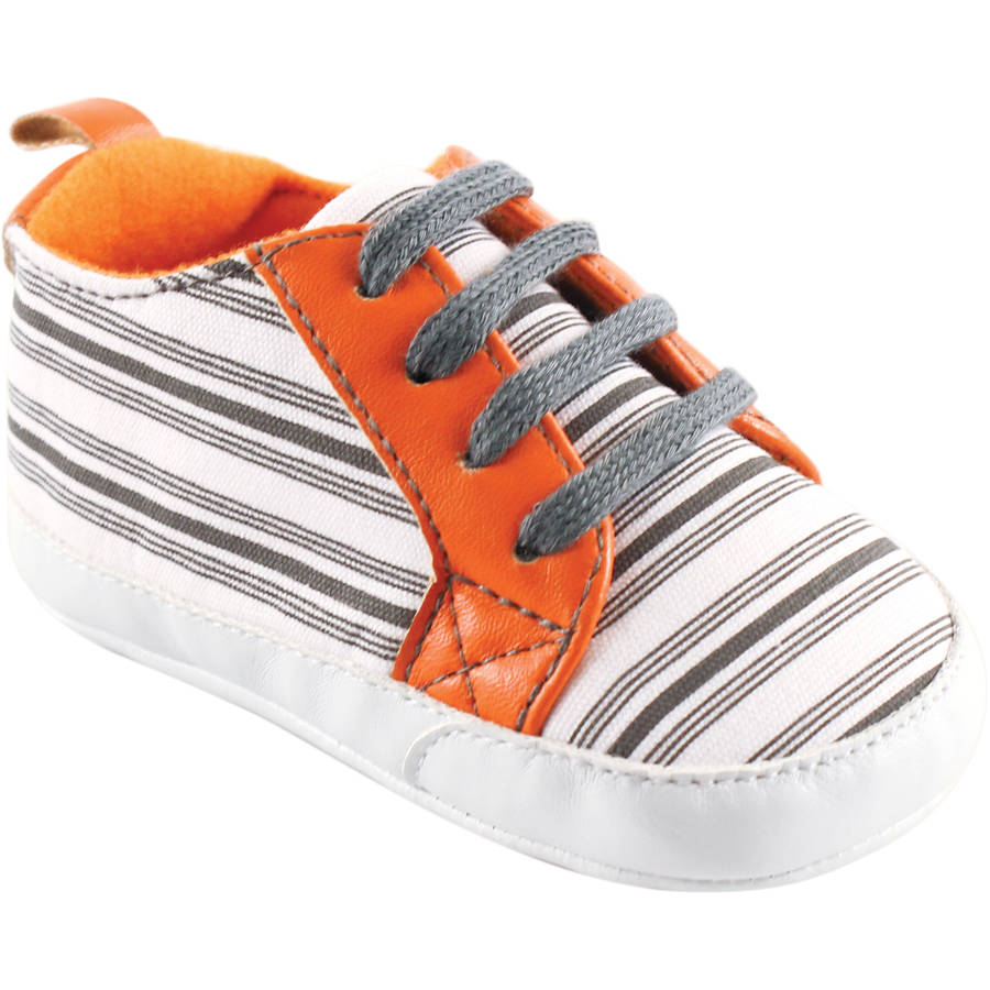 Yoga Sprout Newborn Baby Boys Print Sneakers