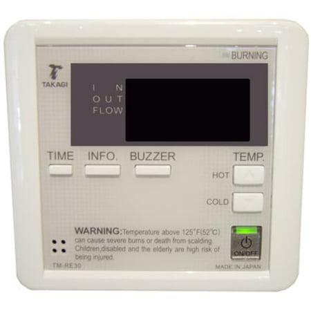Takagi 9007603005 Temperature Remote Controller