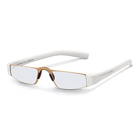 ac50e9dc1 Porsche Designs P8801 +1.00 Reading Glasses C White Frame Clear ...