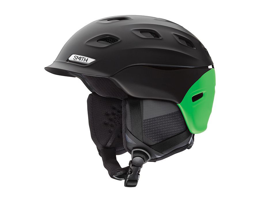 Smith Optics Vantage Ski Snow Helmet (Matte Black Split Large) by Smith Optics