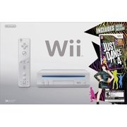 Wii Game Console with Just Dance 4 Bundle (refurbished)