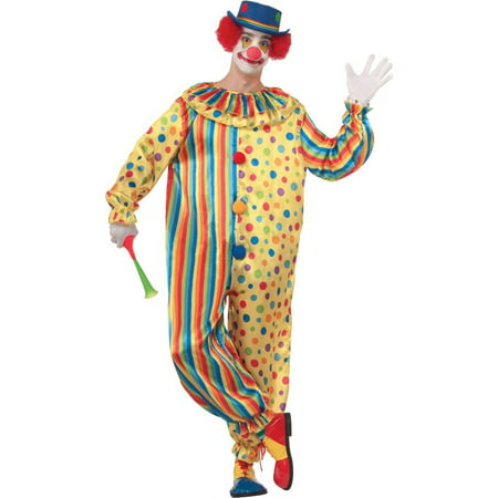 Adult Spots the Clown Costume - Clown Costume Accessories Adults