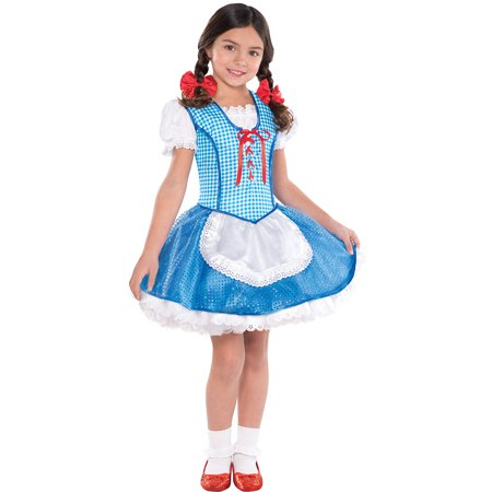 Suit Yourself Dorothy Halloween Costume for Girls, The Wizard of Oz, Includes