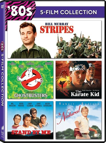 Ghostbusters (1984) Stripes The Karate Kid (1984) Stand By Me TheNatural by