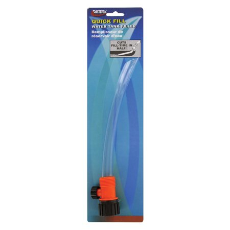 - Valterra A01-0031VP Quick Fill Pigtail with Shut-Off - Clear