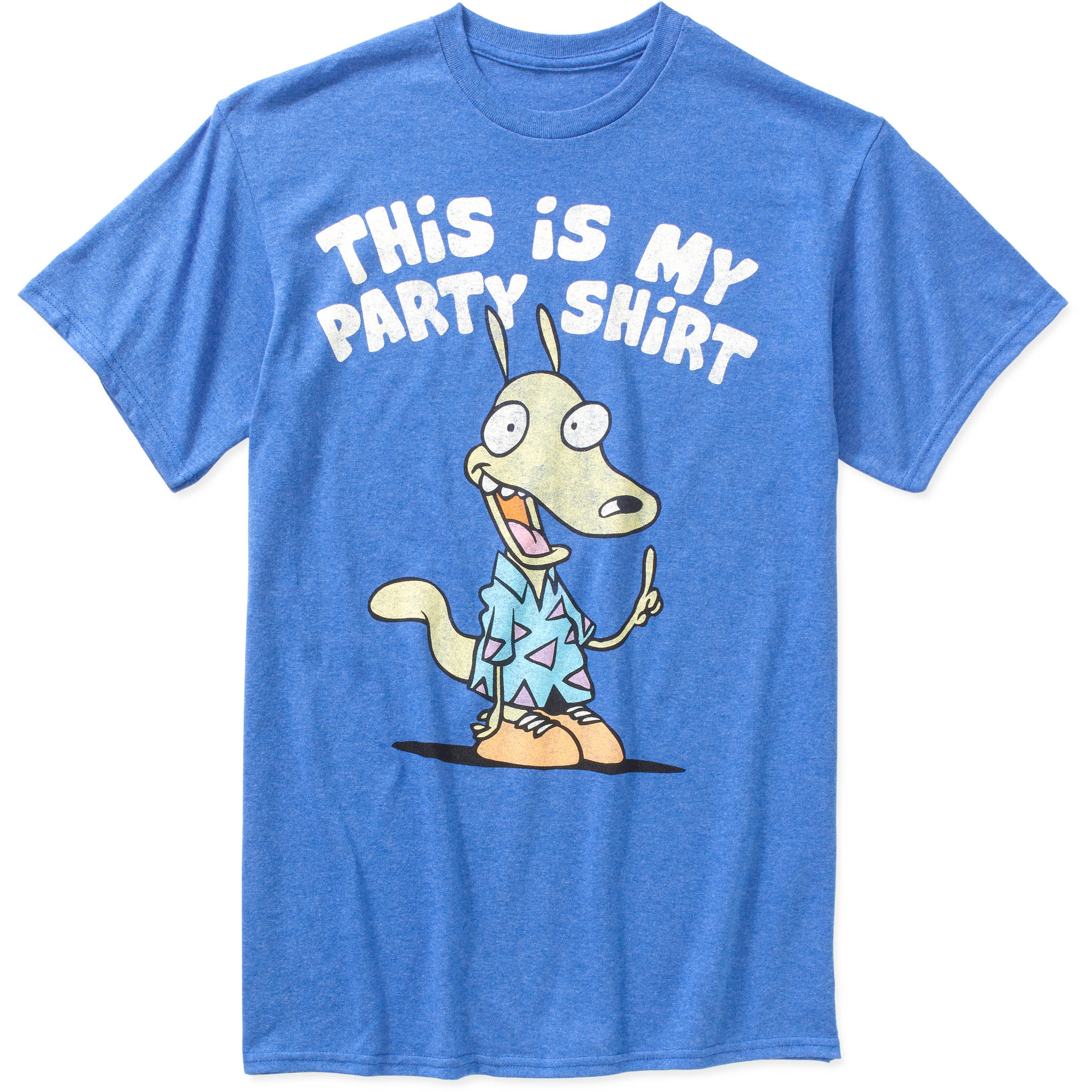 Disney Rocko's Modern Life Party Big Men's Graphic Tee, 2XL