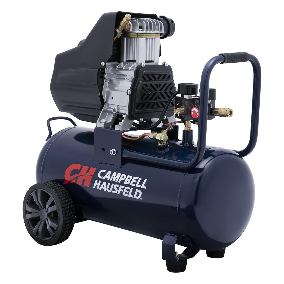 Campbell Hausfeld DC080100 8 Gallon 1.3HP Oil-Free Air Compressor