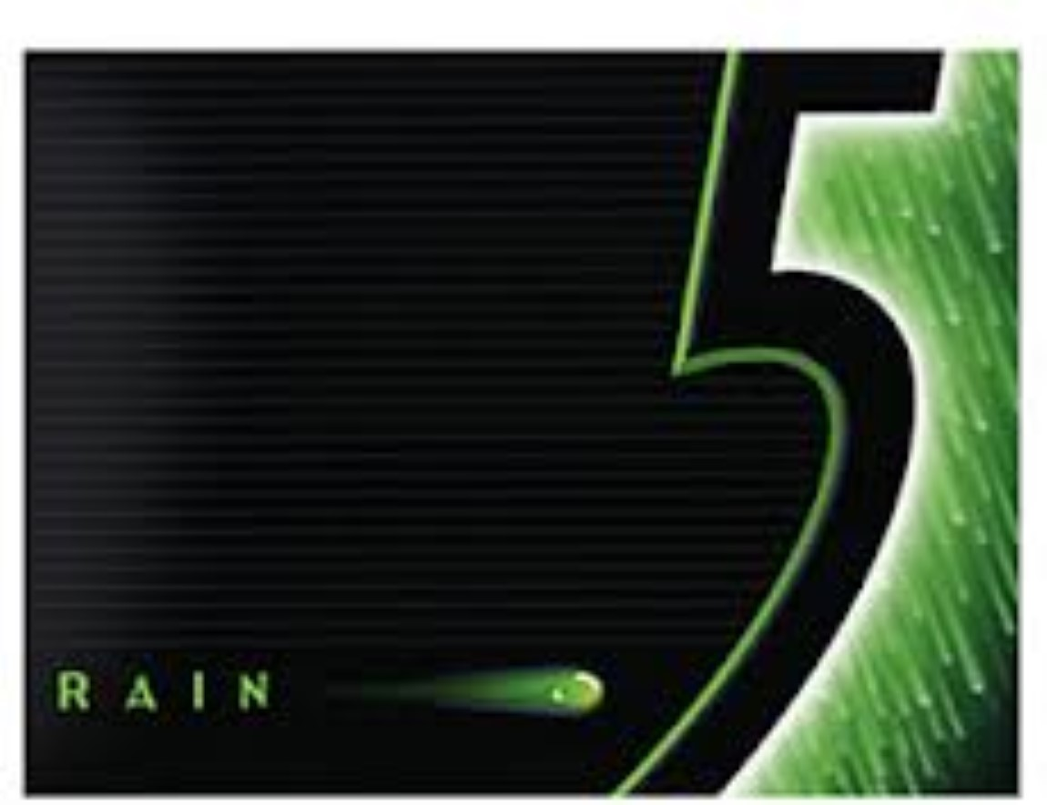 5 Gum Spearmint Rain Sugarfree Gum, 10 Ct by Wrigley