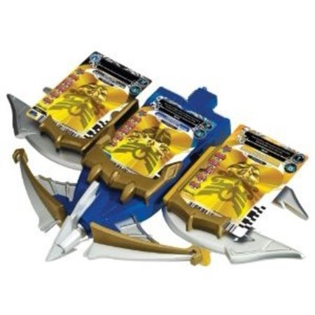 Power Rangers Snake Ax  Tiger Claw And Shark Bowgun Battle Play Set