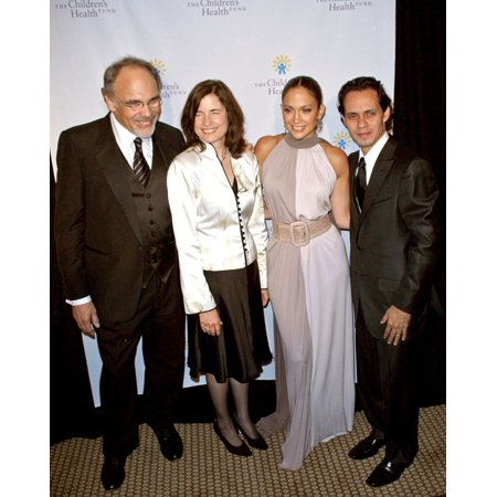 Irwin Redlener Karen Redlener Jennifer Lopez Marc Anthony At Arrivals For 20Th Anniversary ChildrenS Health Fund Gala Dinner New York Hilton And Towers Hotel New York Ny May 30 2007 Photo By Steve Mac (Jennifer Lopez Health)