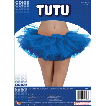Blue Tutu-Adult Halloween - Halloween Rat Bat Blue