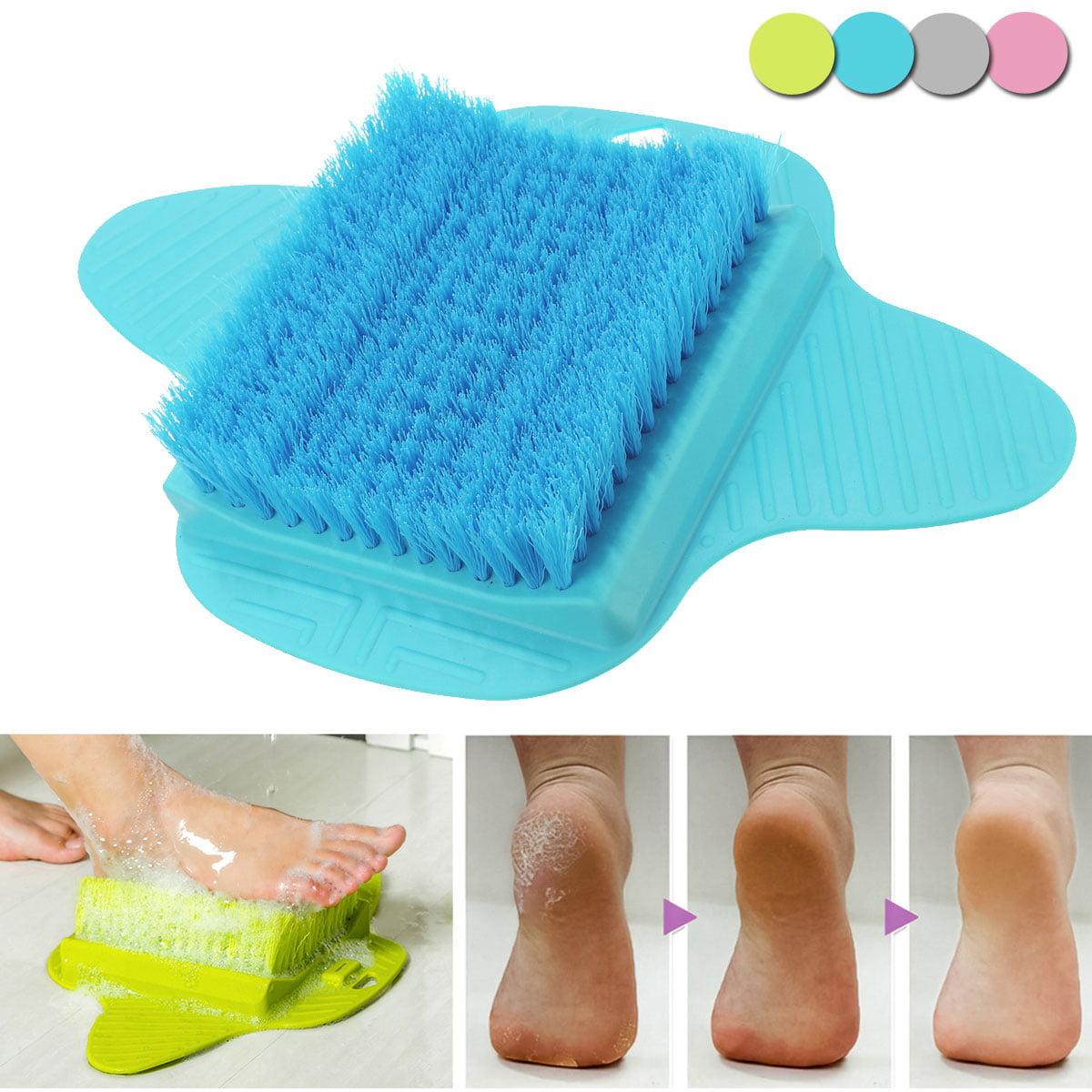 Bath Foot Scrub Brush Exfoliating Shower Feet Scrubber Cleaner Washer Spa Massage Brush