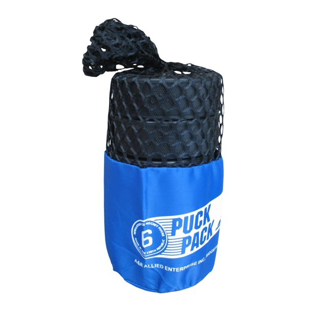 A&R Sports Bag of Pucks 6-Pack