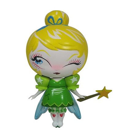 Tinkerbell Figurine (Enesco - World of Miss Mindy Disney Designer - Peter Pan - Tinker Bell Vinyl Figurine, 7-inches )