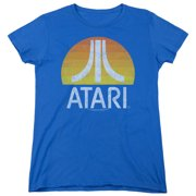Atari Sunrise Eroded Womens Short Sleeve Shirt