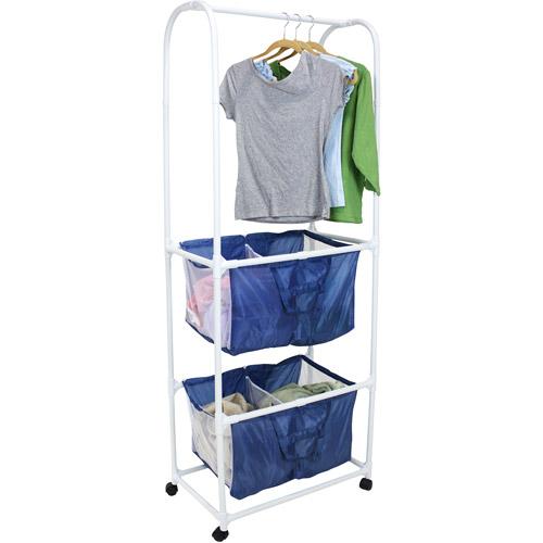 Mainstays Double Hamper Laundry Center