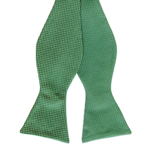 Mens Kelly Woven Like Tie Yourself Bow Ties