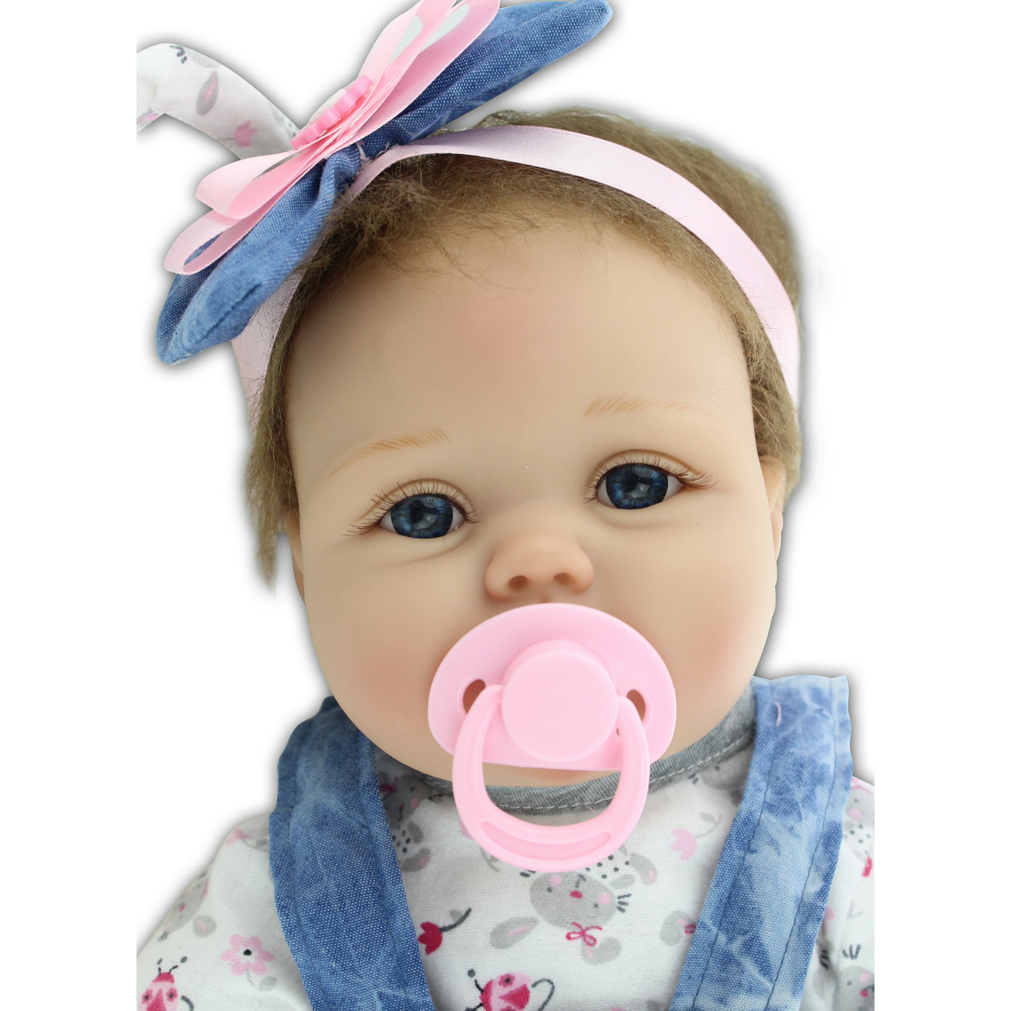 Reborn Baby Doll Soft Silicone 22inch 55cm Magnetic Lovely Lifelike Cute Lovely Baby Children Toy Gift Walmart Com Walmart Com
