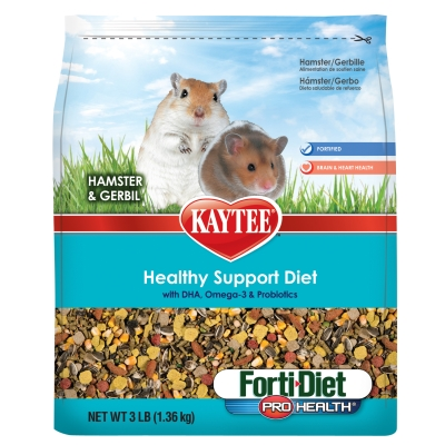 CENTRAL - KAYTEE PRODUCTS, INC HAMSTER/GERB F.D. PRO HEALTH 3 LB