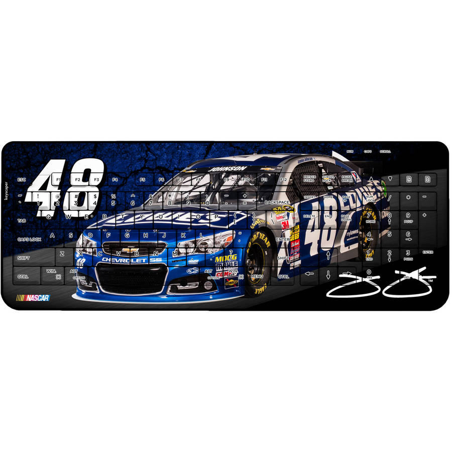 Jimmie Johnson #48 Wireless USB Keyboard