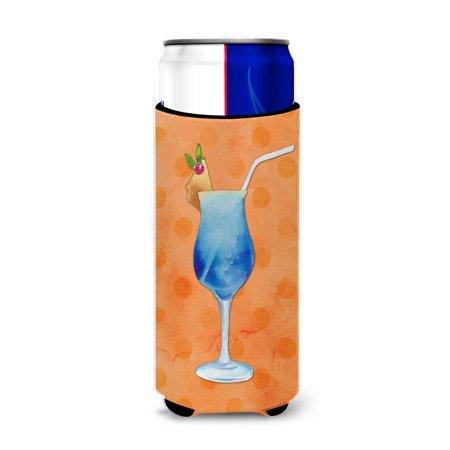 Summer Cocktail Orange Polkadot Michelob Ultra Hugger for slim cans (Orange Cocktail)