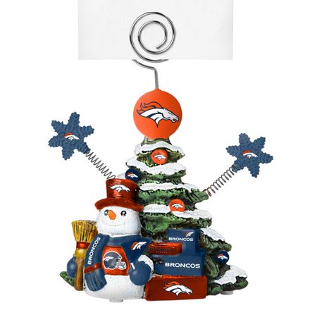 Nfl Holder (Topperscot by Boelter Brands NFL Tree Photo Holder, Denver Broncos)