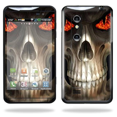 low priced e87b0 2d23f Mightyskins Protective Vinyl Skin Decal Cover for LG Thrill 4G Cell Phone  wrap sticker skins Evil Reaper