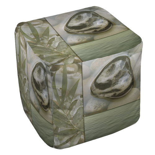 Manual Woodworkers & Weavers Natural Elements 4 Pouf