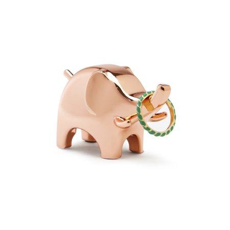 Umbra Anigram Ring Holder, Elephant, Copper ()