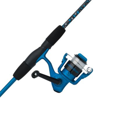 Blue Ice Ice Fishing Rod (Shakespeare Amphibian Spinning Reel and Fishing Rod)