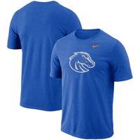 Boise State Broncos Nike Performance Cotton School Logo T-Shirt - Royal