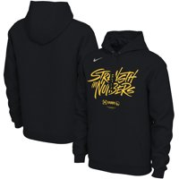 Golden State Warriors Nike 2019 NBA Playoffs Bound Team Mantra Pullover Hoodie - Black