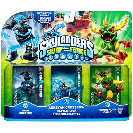 Skylanders Swap Force Arkeyan Crossbow Battle Pack (Universal) 047875847576