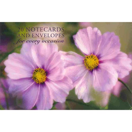 Pink Cosmos: 20 Notecards and Envelopes For Every Occasion