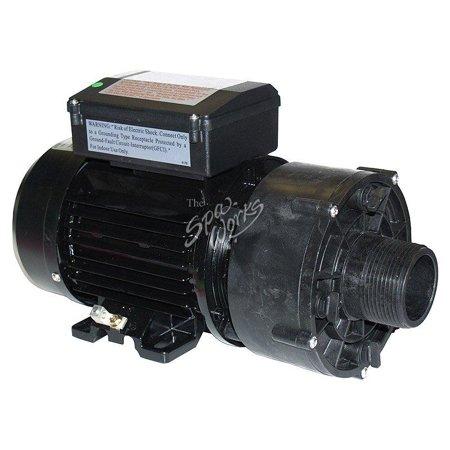 Jacuzzi 2 Speed Motor (Jacuzzi Spa Complete Pump/Motor 1 1/2 Hp 2 Speed 115 Volt 6500-845 - )