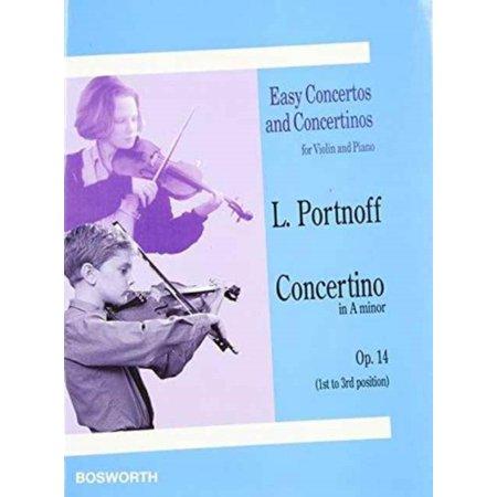 Leo Portnoff: Concertino in A Minor for Violin and Piano Op.14 (Paperback)