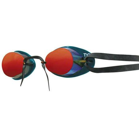 TYR Socket Rocket 2.0 Mirrored Goggle: Metallic Fire (Tyr Socket Rocket)