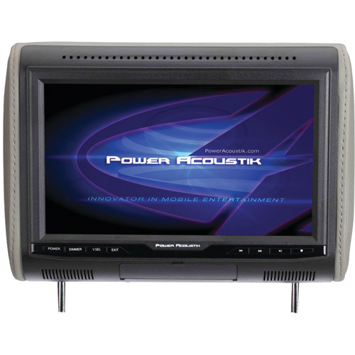 "Power Acoustik PHDm-103 10.3"" 1080p Digital Media Headrest with HDMI MHL Input and 3 Interchangeable Color Skins"