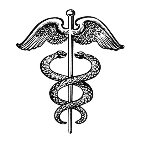 Stretched Canvas Art The Caduceus Nan Insignia Modeled On Hermes