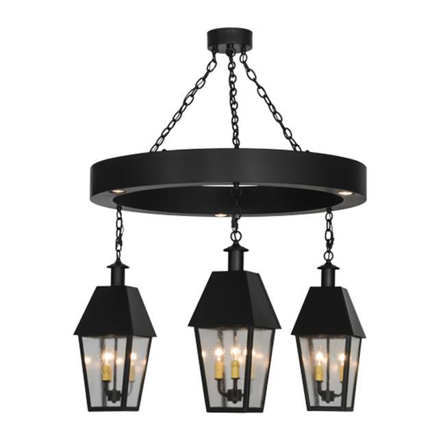Meyda Tiffany 152348 42 in. Oneida Lantern 4 Light Chande...