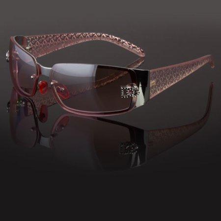 New DG Eyewear Womens Sunglasses Designer Fashion Wrap Around Bling (Women's Wrap Sunglasses)