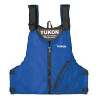 Yukon 13004-16-A-BL Base Paddle Vest, Blue - Adult Oversized