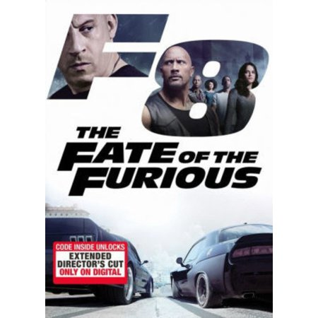 The Fate Of The Furious (DVD)