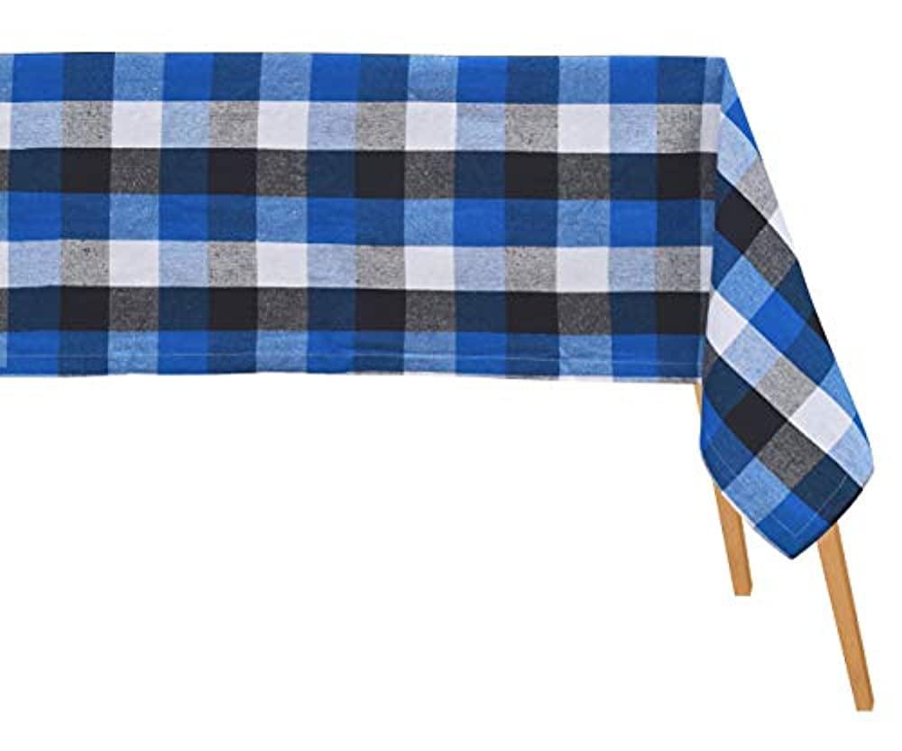 Classics Buffalo Plaid NavyBlack Fabric by the Yard